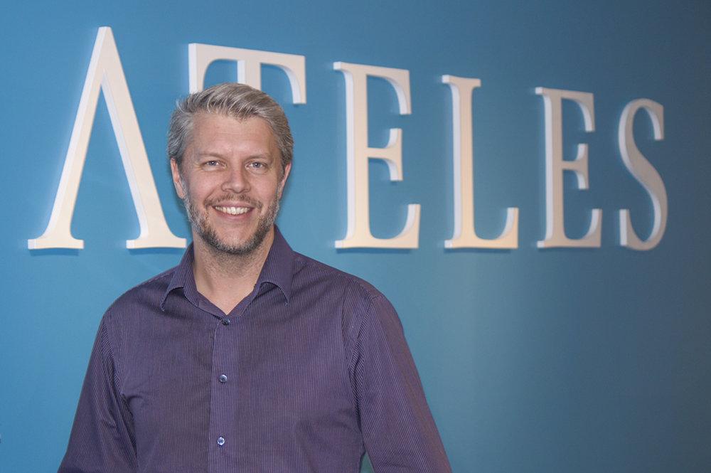 Ateles stärker upp organisationen med Martin Hansson som Head of Development
