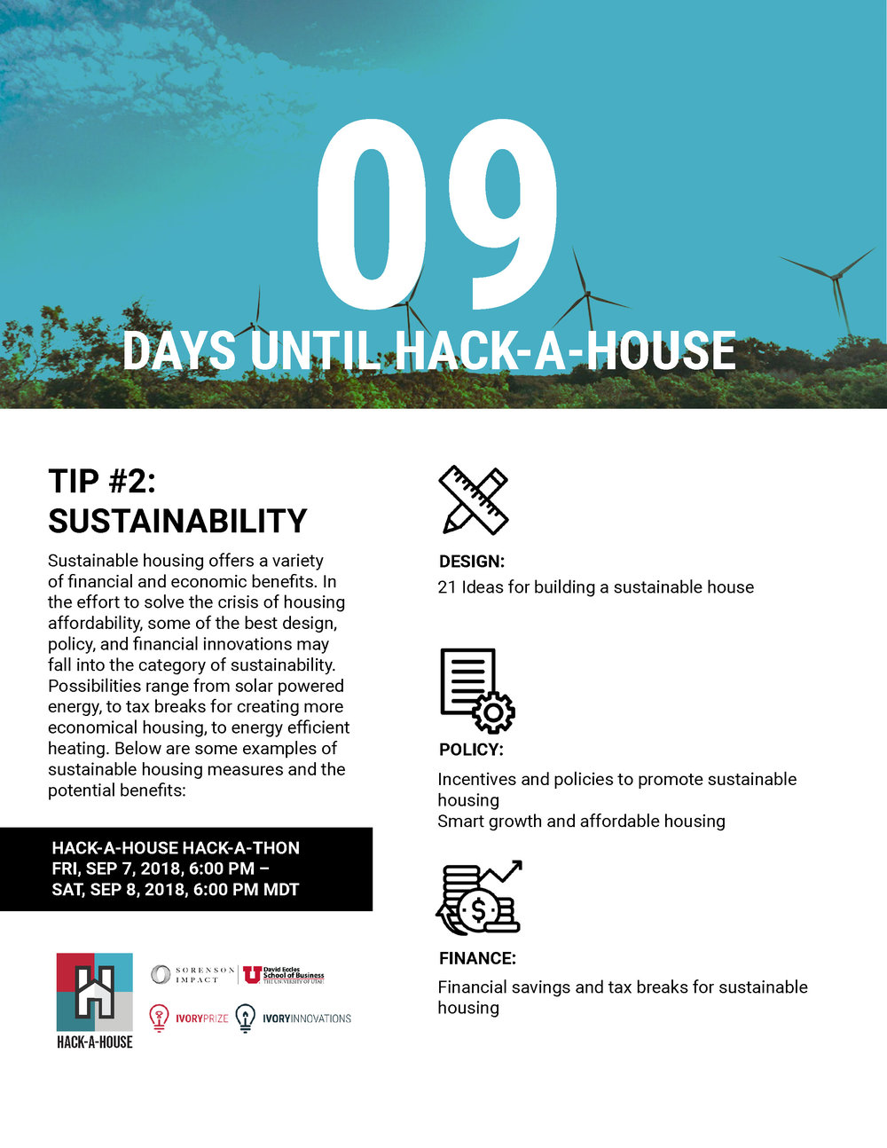 daily tips for hack a house! \u2014 ivory innovationshack a house countdown_02 jpg