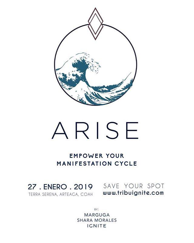 ARISE & Empower your manifestation cycle 🌊 En este encuentro aprenderemos de la relación que tenemos con nuestros ciclos desde un nivel corporal, emocional y espiritual y como estos influyen en las experiencias y vivencias que se presentan en nuestras vidas. . Encuentra más info en nuestra página web ✨ (Link en bio)