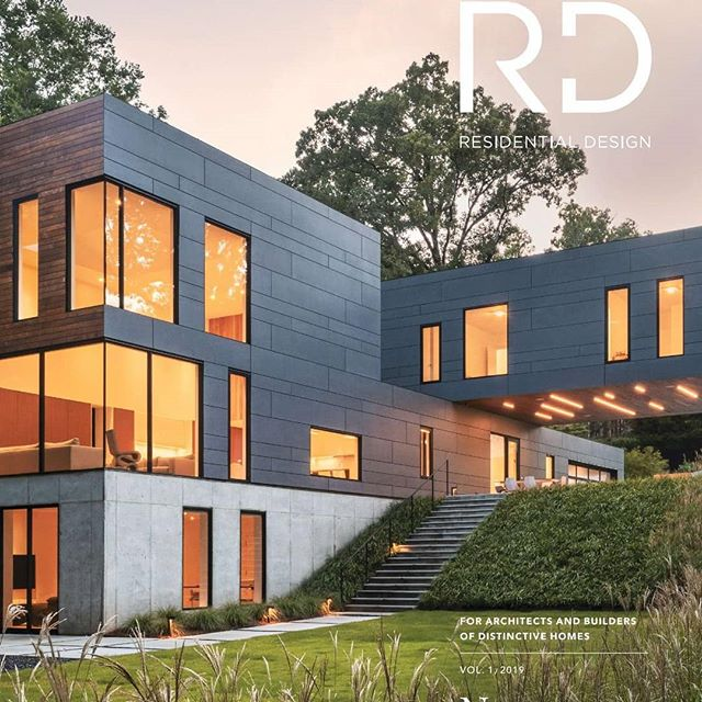 One of our residential projects has been featured on the cover of Residential Design magazine!  See the full article linked in on our bio page! ___________________________________________________ Photography: @alexherringvo Architecture: Dig Architects  #landscapearchitecture #designbuild  @asdskydesign