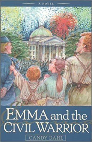 """Join Emma and five-year-old Micah as they risk everything to honor their father and save their city. Can a certain Union lieutenant turn their Confederate fervor into forgiveness and acceptance and allow peace to prevail?     """"Candy Dahl has made the difficult look easy. Her engaging tale brings to life a city and a people in crisis and makes you care about them. The history is sound, the fictional characters are brave and noble, and the moral is unbeatable: peace is always better than war. Those who thought history was dull stuff are in for a sweet surprise.""""                              - Dennis Rogers, Former Columnist,       Raleigh News & Observer"""