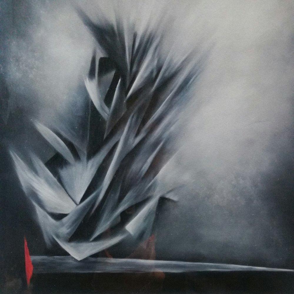 Conjuro Mixta/Tela   90 x 90 cm