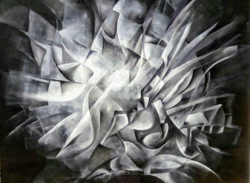 Mayahuel Mixta/Tela   100×120 cm