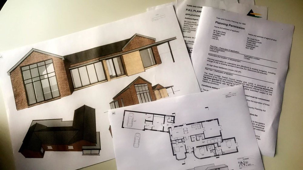 Architecture North Recieve Full Planning Permission on 4 Applications - 24/09/2018