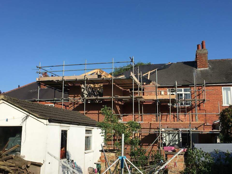 Hykeham Road - Proposed Roof Trusses being supplied by Apex