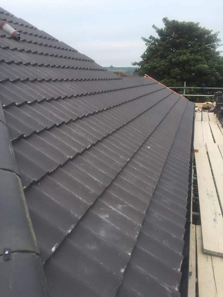 Hykeham Road - Sandtoft Double Pan Tile in Dark Grey