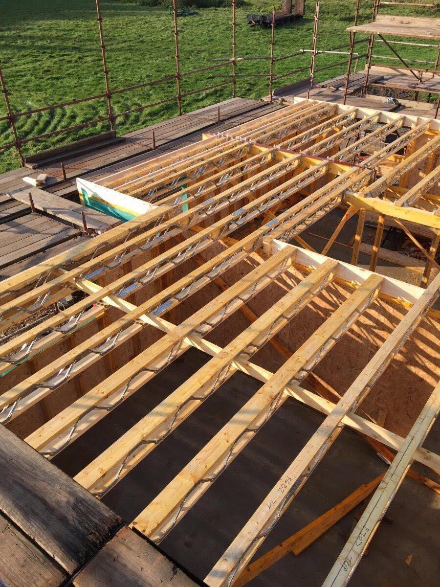 Proposed New Build, Nottinghamshire - MiTek Joists
