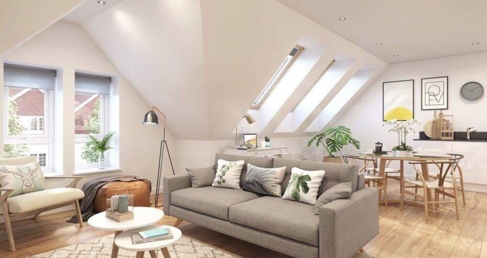 90 - 91 Oxford Street, Digbeth - Proposed Top Floor Visuals