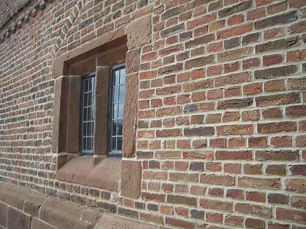 When repairing or adding brickwork, it is important to match the mortar aswell as the bricks