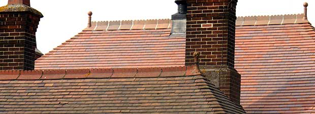 Dreadnought's new Brown Antique tiles blend perfectly with the old tiles in the foreground