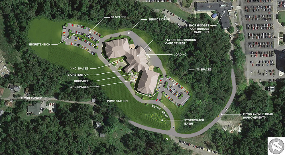 Wheeling Hospital Continuous Care Center Site Plan Rendering, PVE 2016.jpg