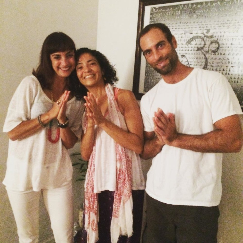 Radha & Ben of Lightrail Yoga Miami, My first Dharma Yoga instructors in Miami & Brazil who encouraged me to teach