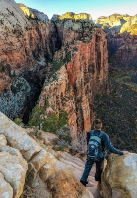 """ Angel's Landing - Descent """