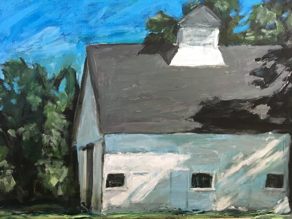 Barn on Midway