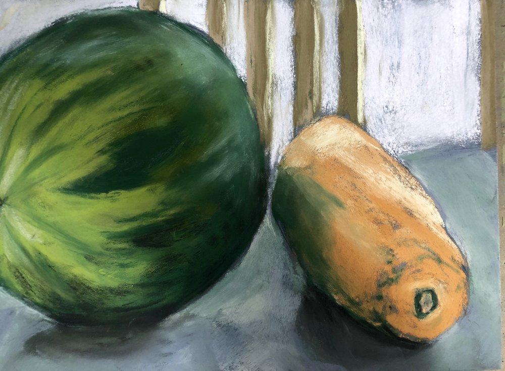 Watermelon and Papaya
