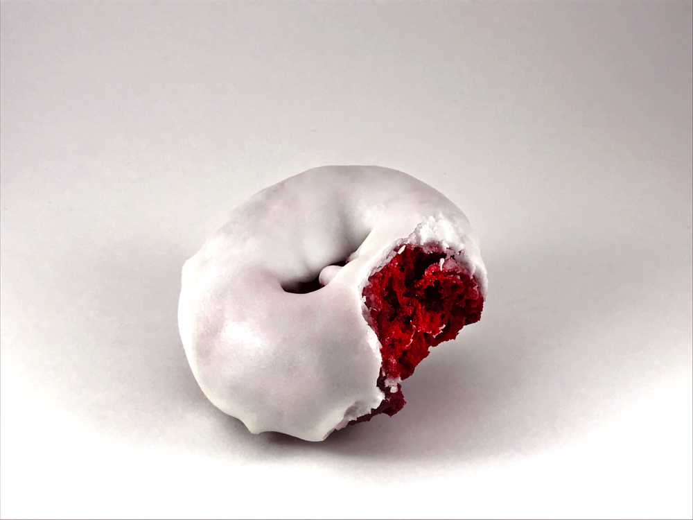VANILLA ICED RED VELVET CAKE    $0.99/EACH