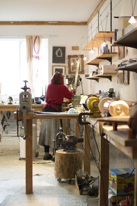 Jewelry Workshop based in Sebastopol, California | Simma Chester