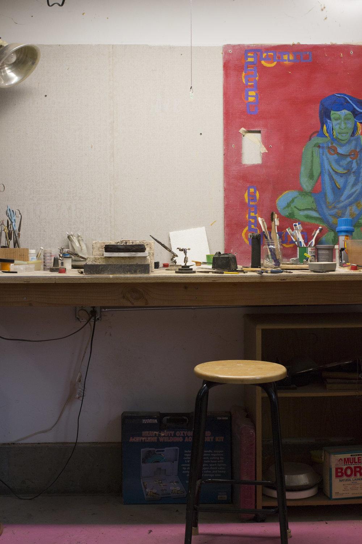 Jewelry Studio Workshop in Sebastopol, California | Simma Chester
