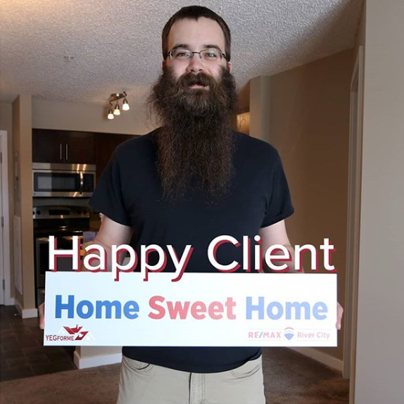 Brent Deptuck - Happy Edmonton Real Estate Client
