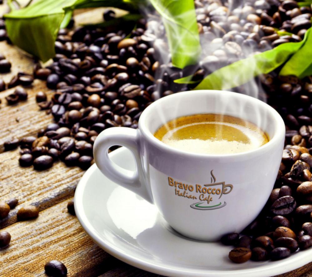 bravo rocco coffee cup