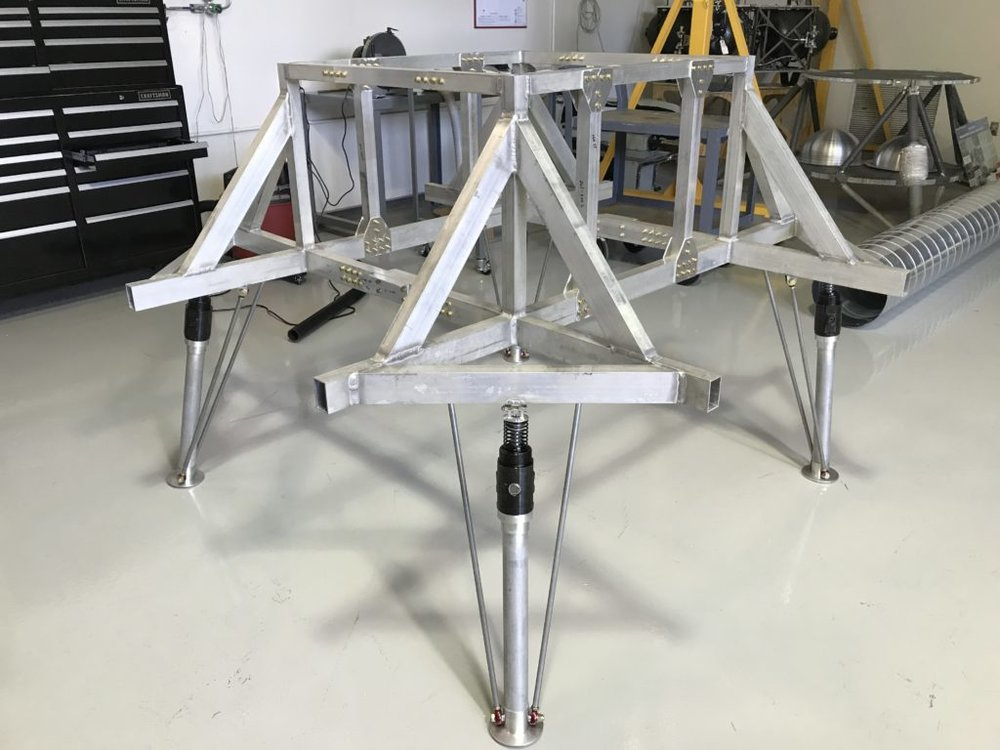 Credit: MSFC - MSFC is doing the assembly and fabrication work
