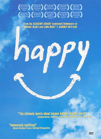 Happy - This movie is the ULTIMATE feel good movie. A documentary aimed at uncovering the secrets to happiness. Spoiler alert: they do.[on Netflix!]
