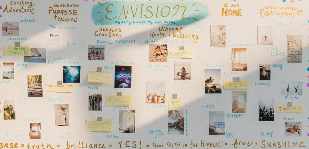 How-to Create a Vision Board: Part 2 || @purelylucy