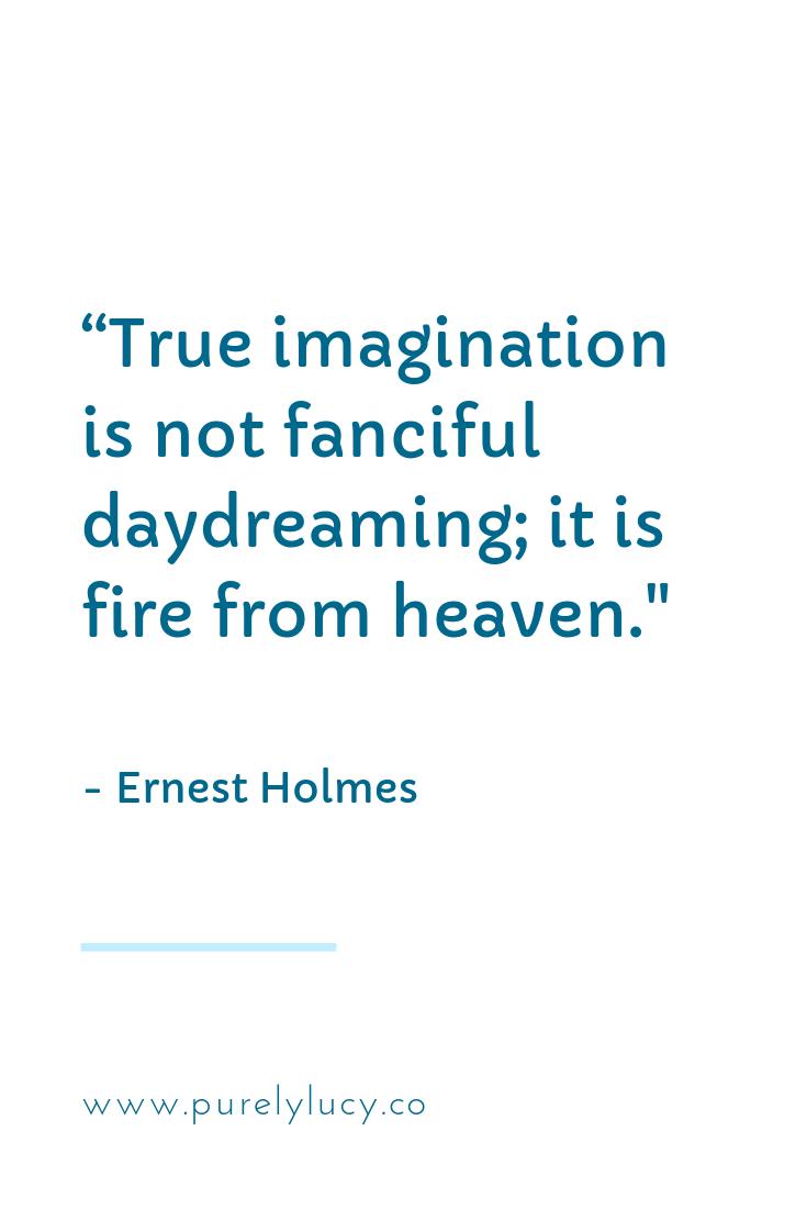True Imagination || www.purelylucy.co