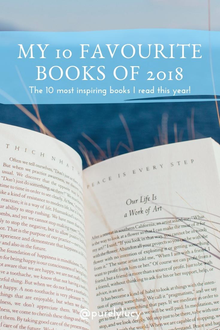 My 10 Favourite Books of 2018 || www.purelylucy.co