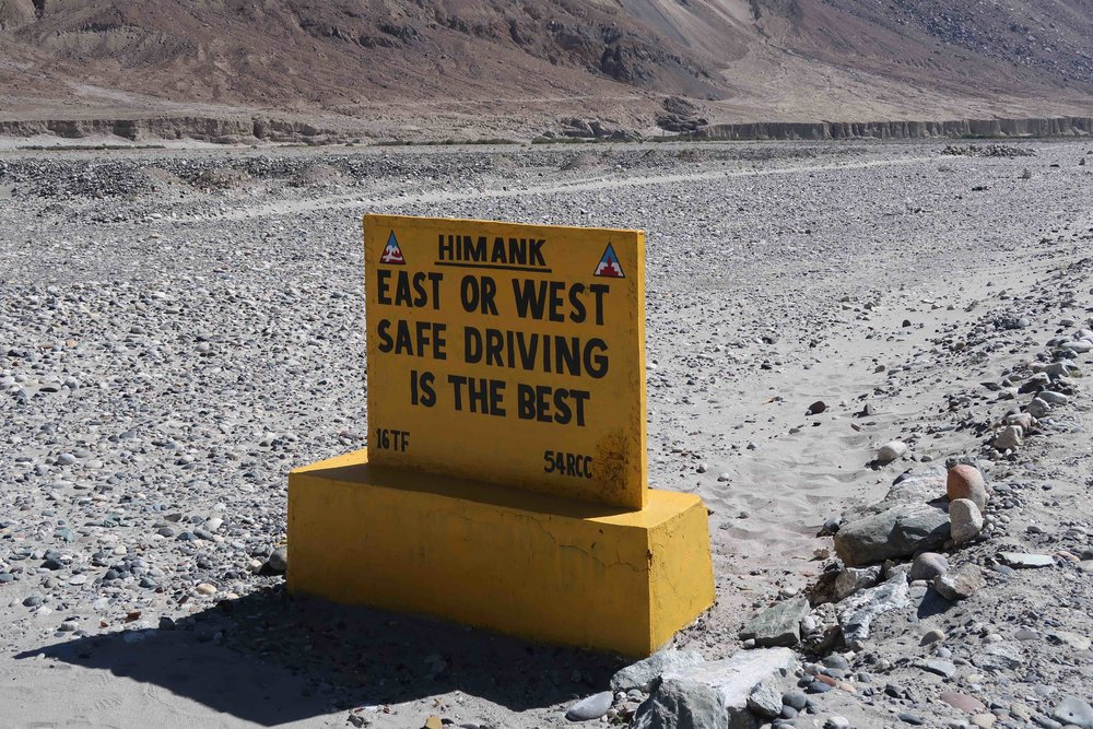 """""""East or West, Safe Driving is the Best"""" - 10 Inspirational Indian Road Signs"""