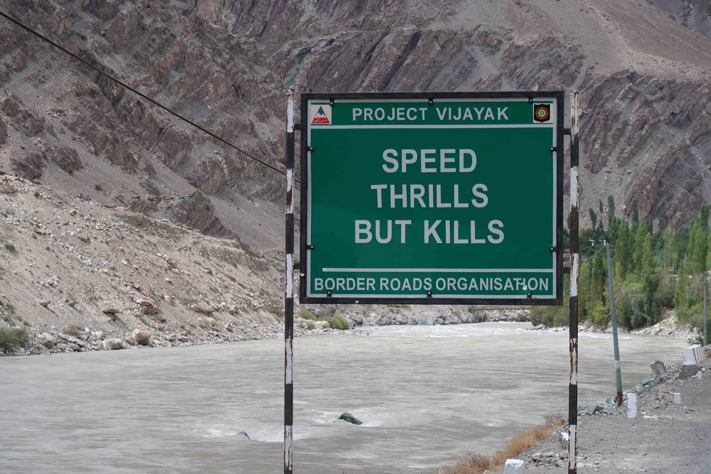"""""""Speed Thrills but Kills"""" - 10 Inspirational Indian Road Signs"""