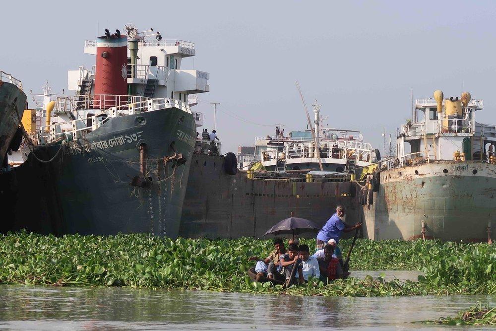 Dhaka River Traffic
