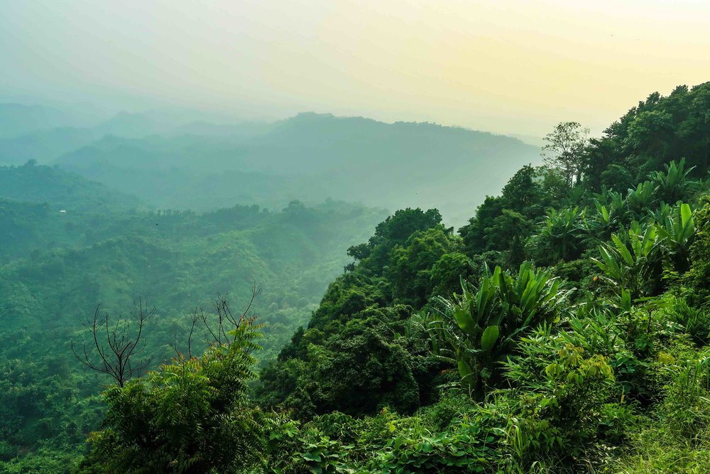 Tiger Hill - Chittagong Hill Tracts, Bangladesh