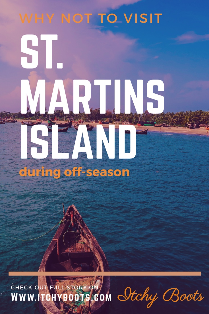 Why you shouldn't visit St. Martin's Island in Bangladesh during off-season!