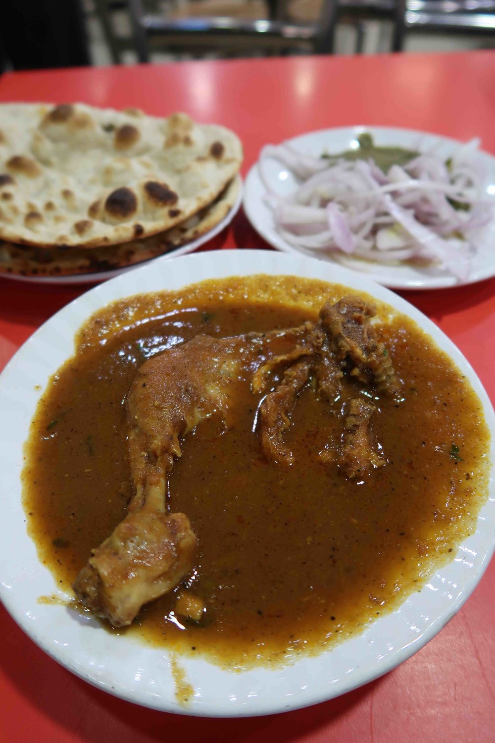 Chicken Curry Kake-da-Hotel Delhi - One of 15 Foods you HAVE to try in Delhi!