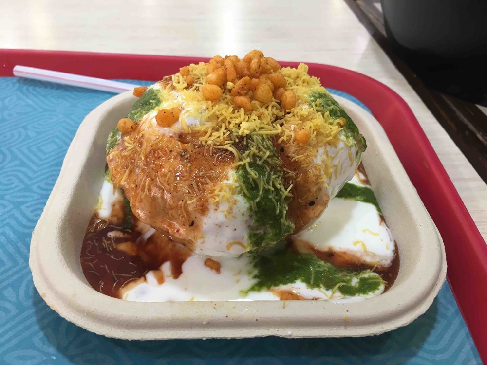 Raj Kachori in Haldiram's is one of 15 foods you have to try in Delhi!