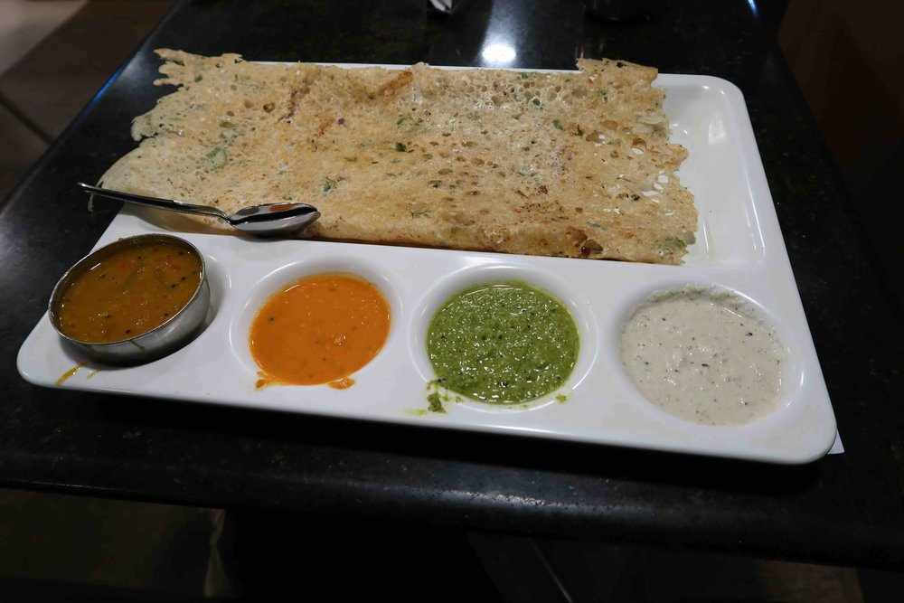 Dosa at Saravana Bhavan - One of 15 foods you HAVE to try in Delhi!