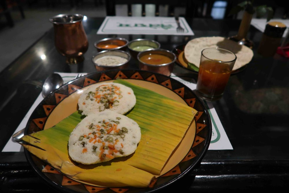 Naivedyam restaurant Delhi - Try the Idli here, one of the 15 foods you HAVE to try in Delhi!