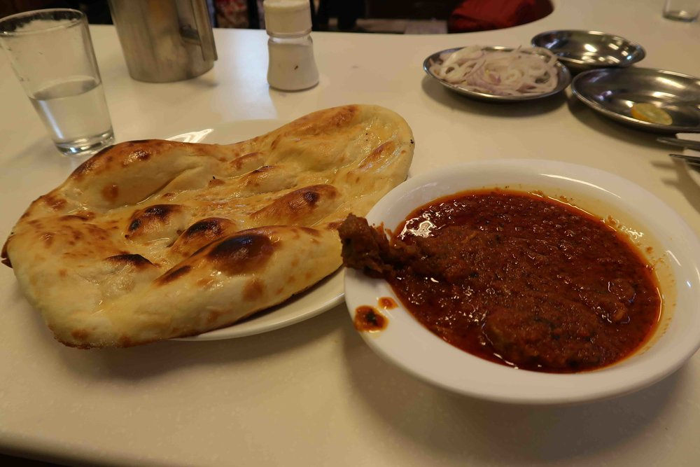 Chicken Jahangiri at Karim's hotel - One of 15 foods you have to try in Delhi before you die!