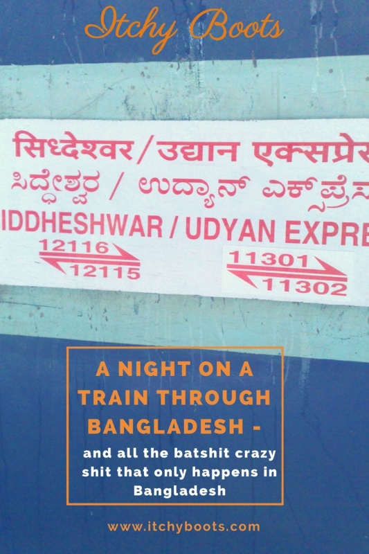 A night train through Bangladesh