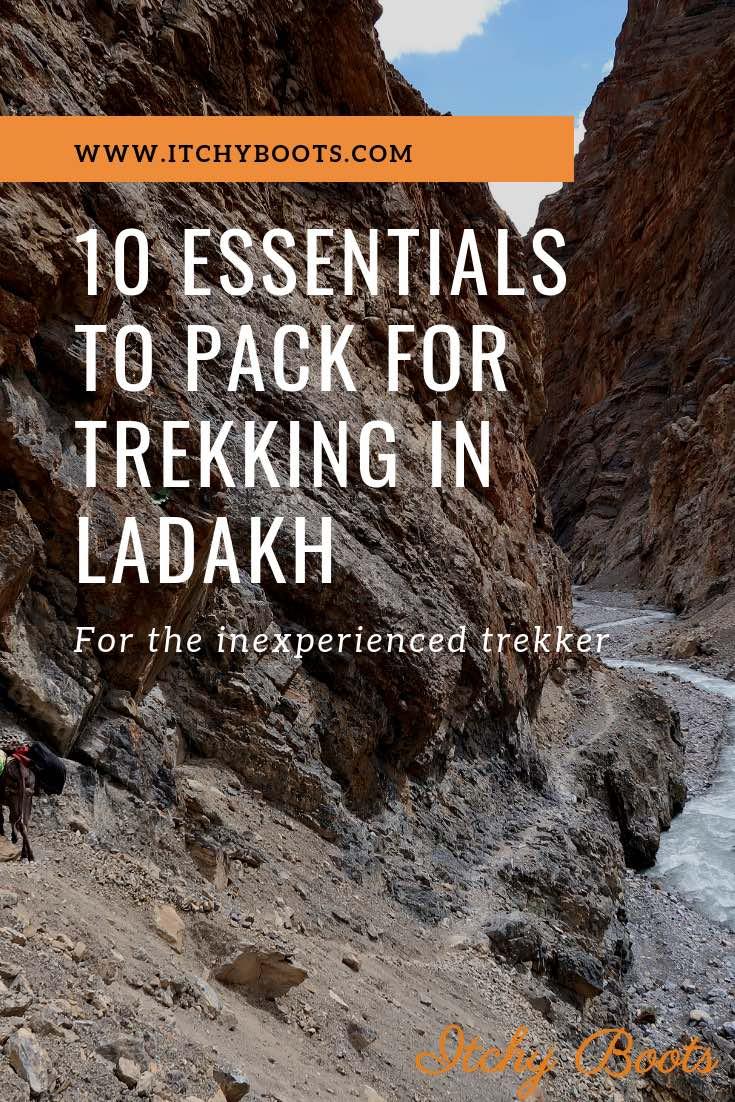 10 Essentials to pack for Trekking in Ladakh