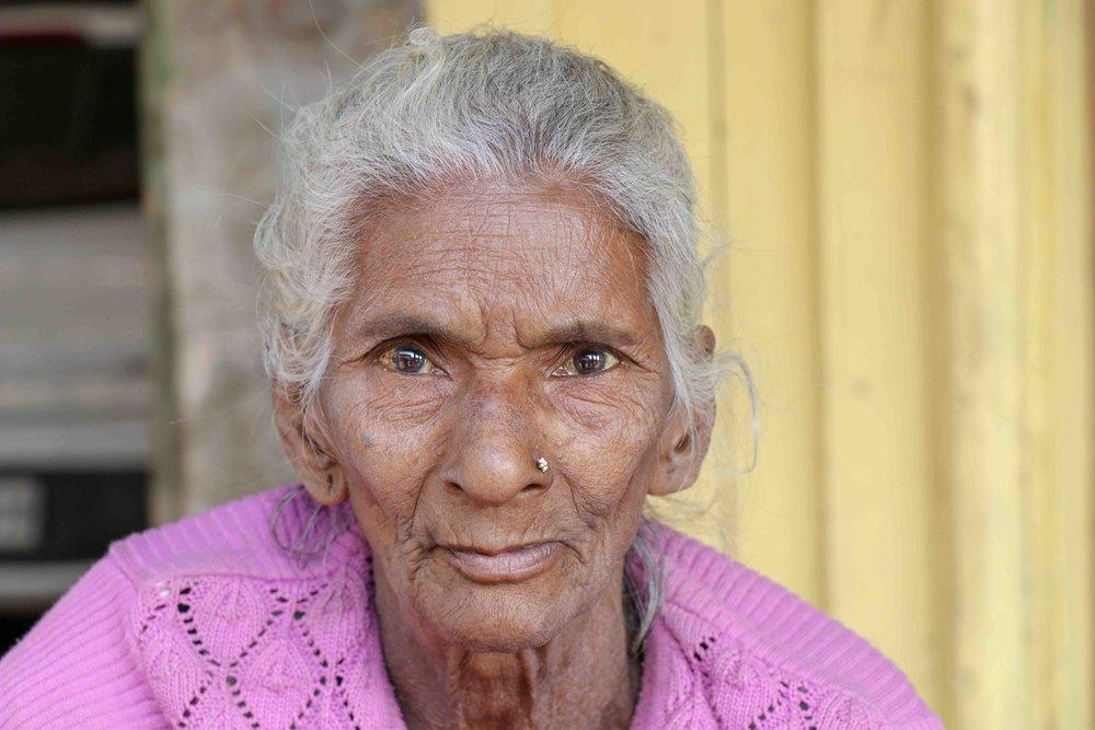Woman in Mathura, India.
