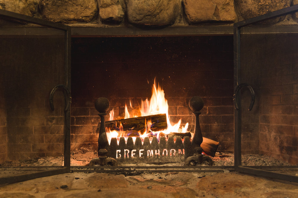 Greenhorn Ranch Fireplace