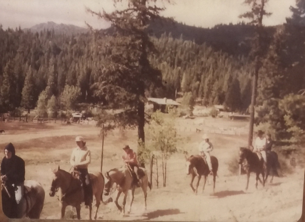 Historic Trail Ride picture of Guests at Greenhorn Ranch