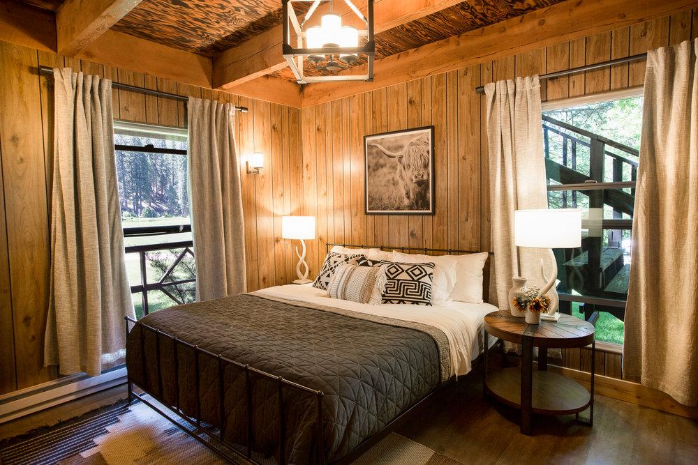 Lodge rooms at Greenhorn Ranch