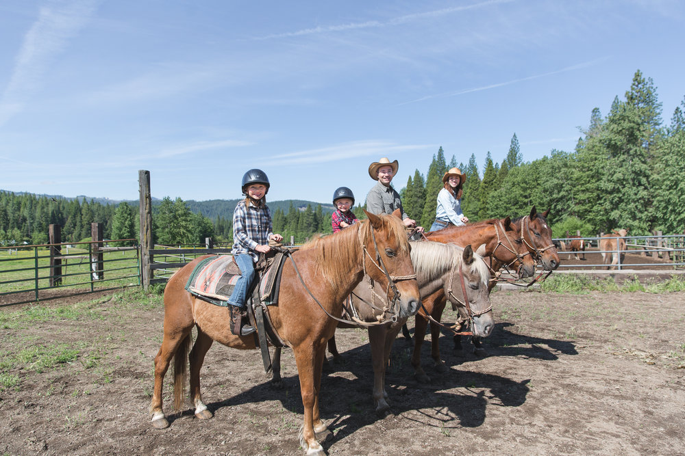 Family Vacations at Greenhorn Ranch