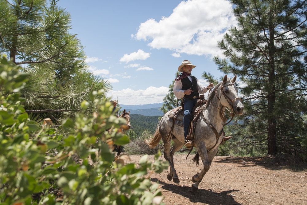 Greenhorn Ranch Wranglers at experts in horsemanship and insure our guests are safe while enjoying our 600 acres of mountain trails on our herd of 60 horses