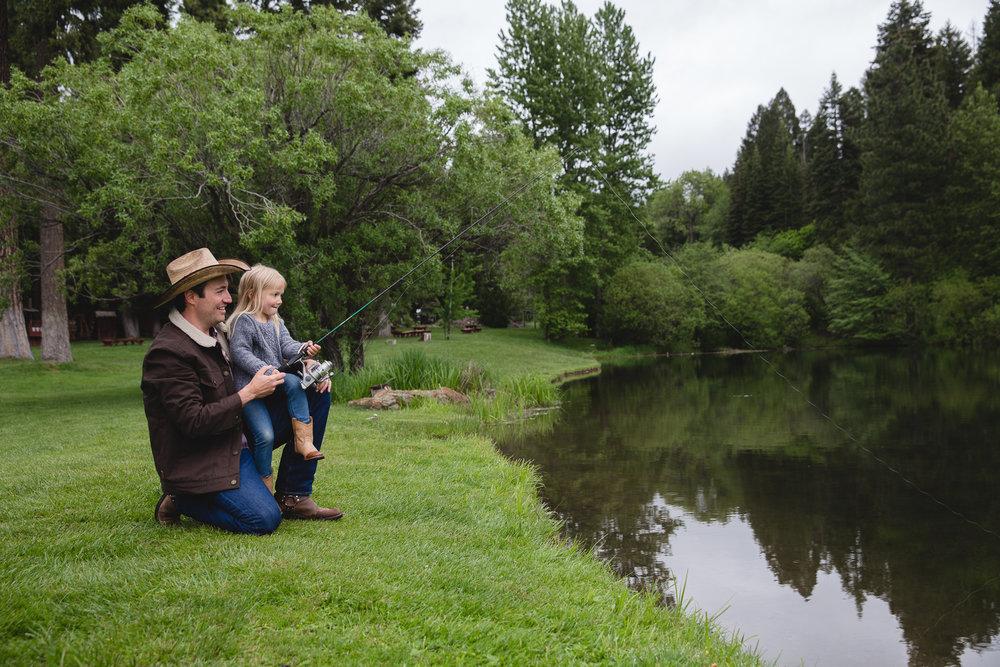Family vacation memories at Greenhorn Ranch