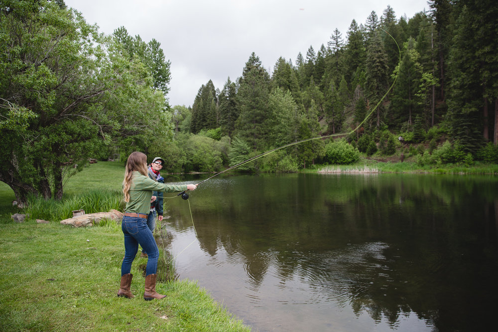 Women's Fly Fishing at Greenhorn Ranch