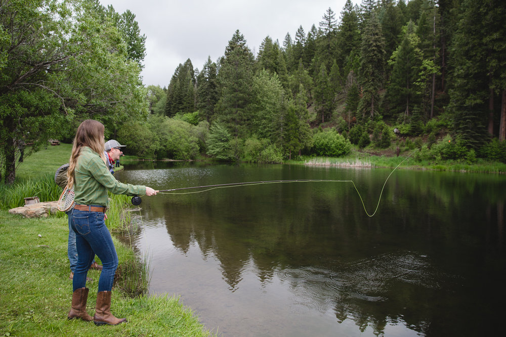 Learn to Fish at Greenhorn Ranch